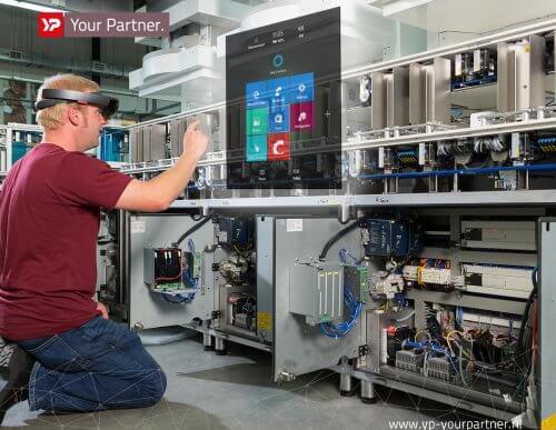 Nederlandse machinebouw koploper door Augmented Reality