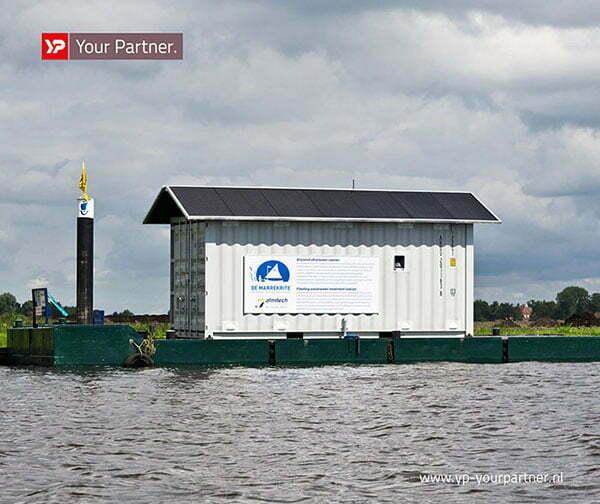 Zelfvoorzienende afvalwaterzuivering