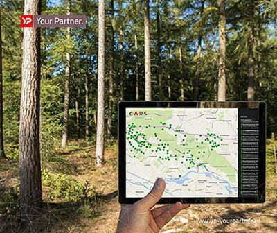 Gemeente Utrechtse Heuvelrug ziet met C.A.R.S door de bomen het bos