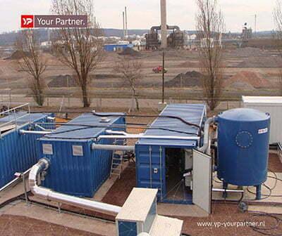 Arcadis en YP zorgen voor efficiënte en effectieve grondsanering.