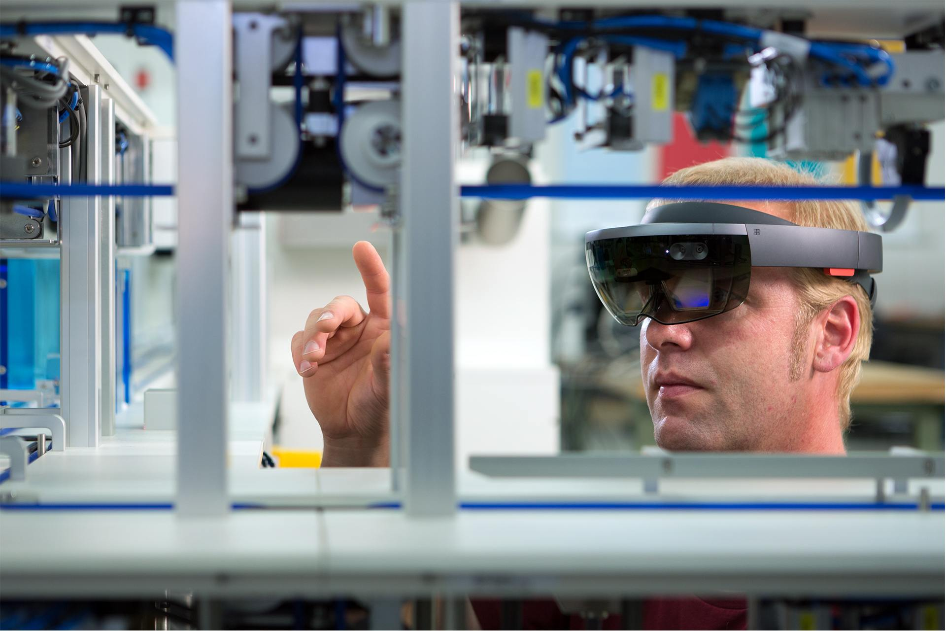 Mixed Reality voor de industrie - YP Your Partner BV