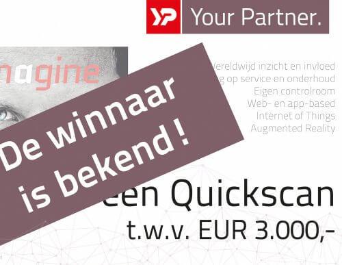 Winnaar WaterLink 2017 bekend - YP Your Partner Quickscan