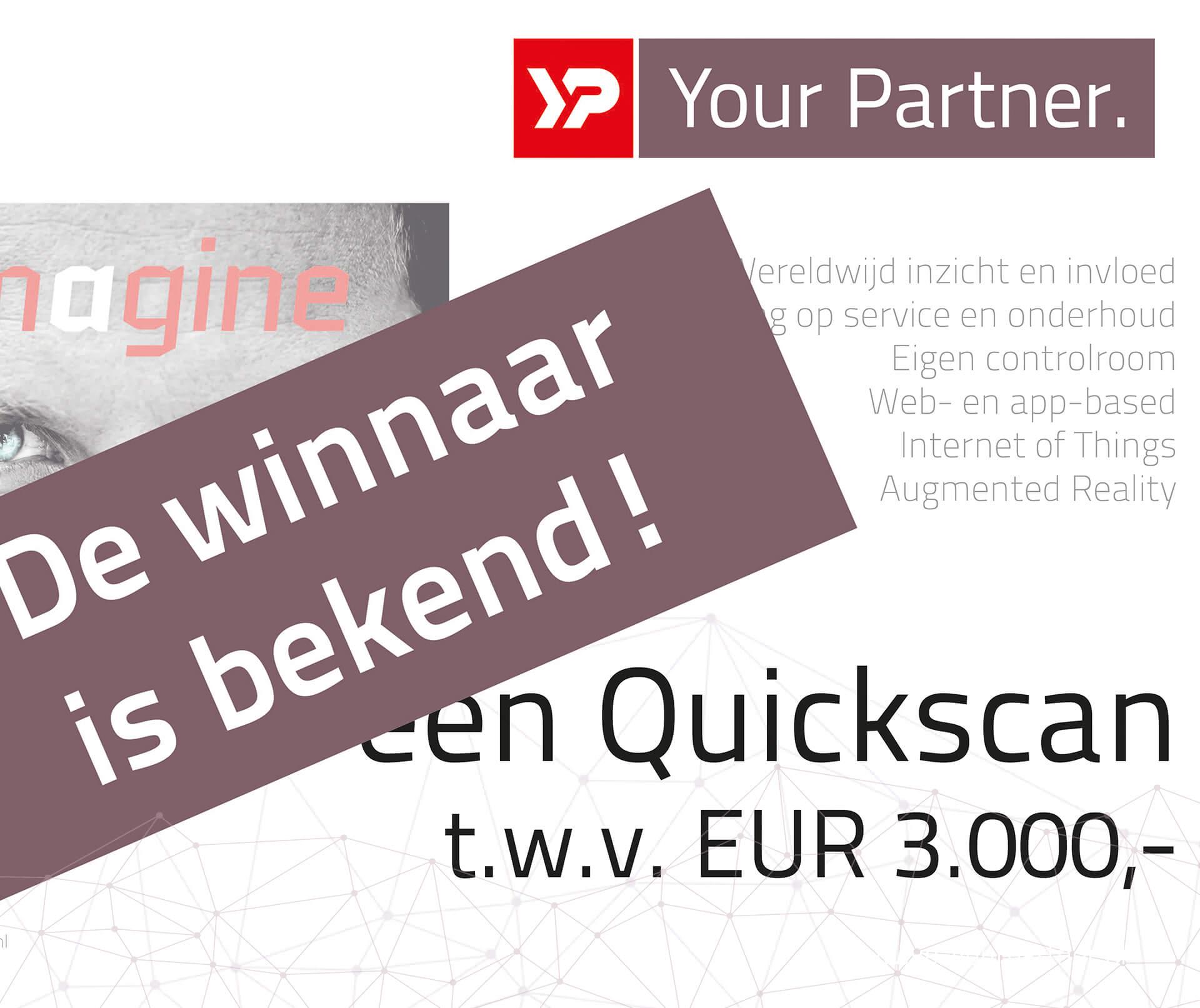 Stork BV winnaar van de YP Your Partner Quickscan