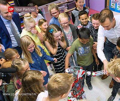415 robotvriendjes op alle Friese basisscholen