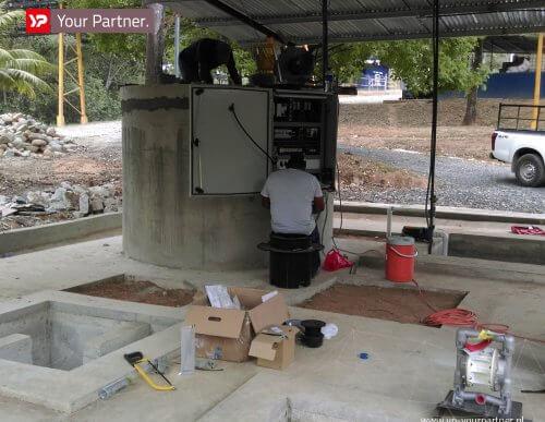 Afvalwaterzuivering met C.A.R.S in Panama - Afmitech Friesland en YP Your Partner