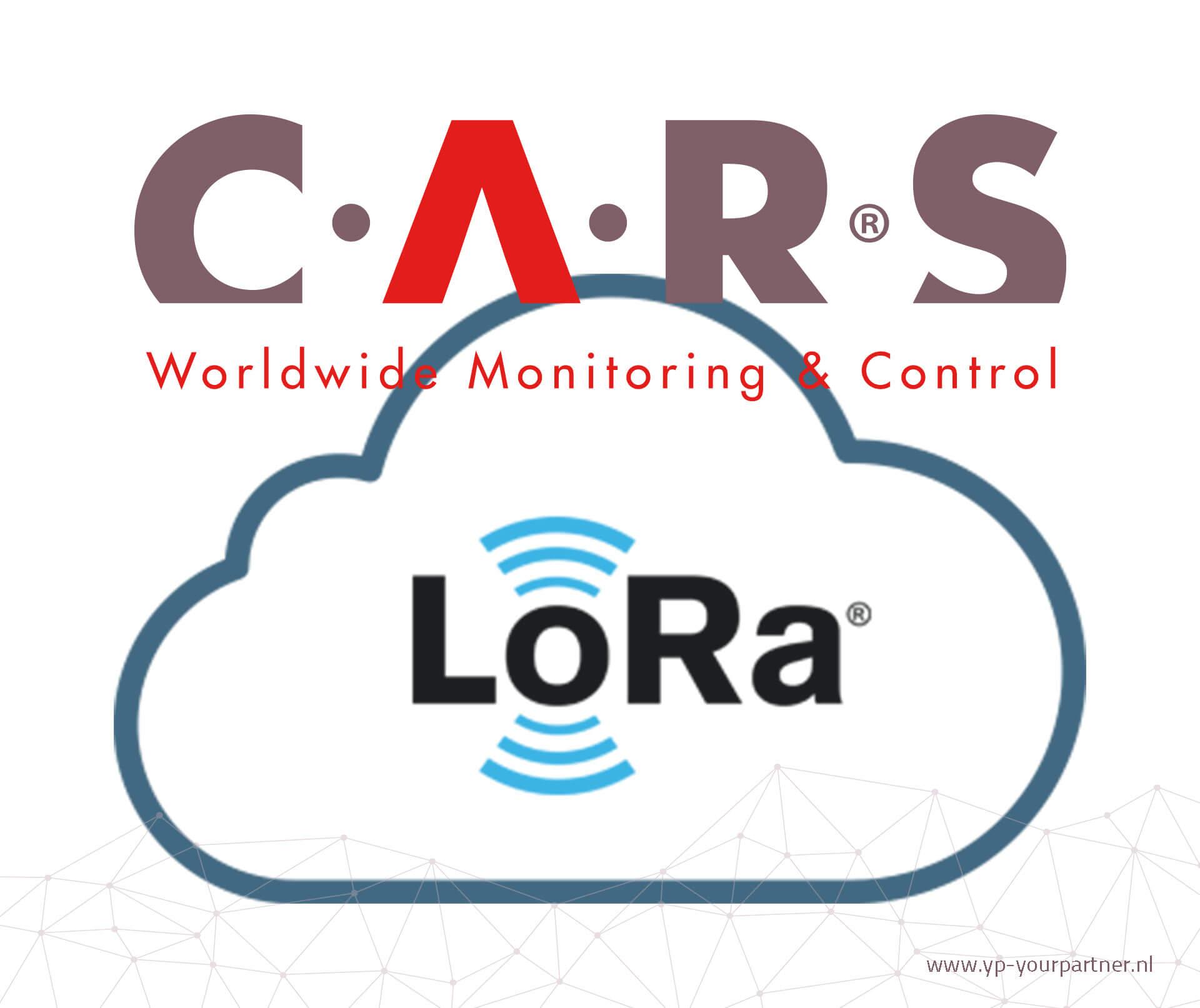 C.A.R.S communiceert via LoRa met Internet of Things