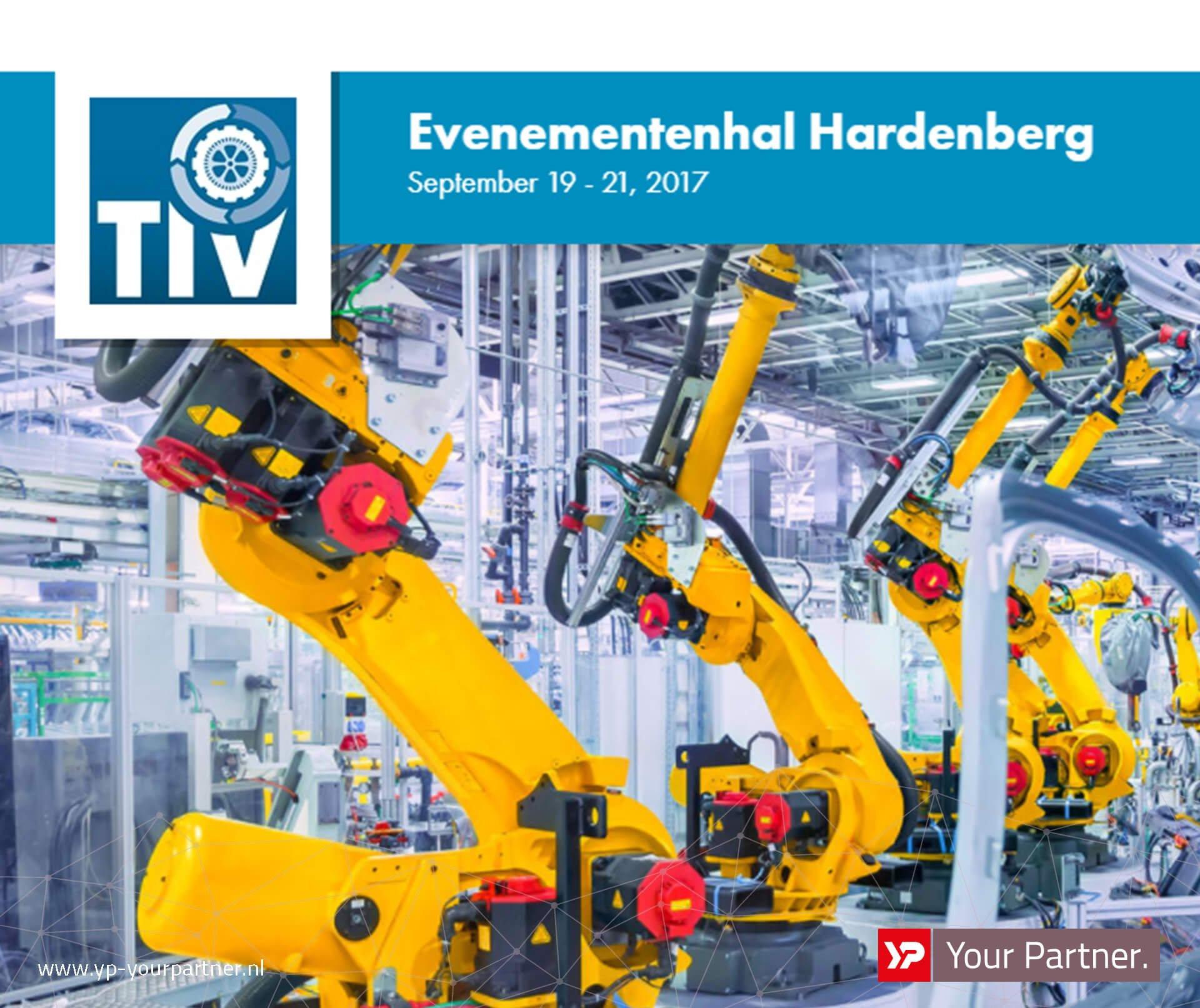 YP Your Partner op TIV Hardenberg 2017 - stand 338