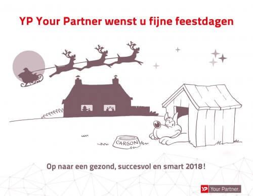 YP Your Partner wenst u fijne feestdagen - C.A.R.S bewaking