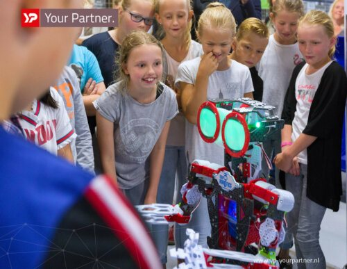 Edu robotics event - Innovatiecluster Drachten - YP Your Partner