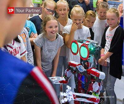YP Your Partner laat honderden kinderen techniek en ICT beleven