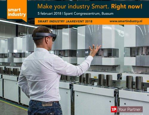 YP Your Partner op Smart Industry Jaarevent 2018