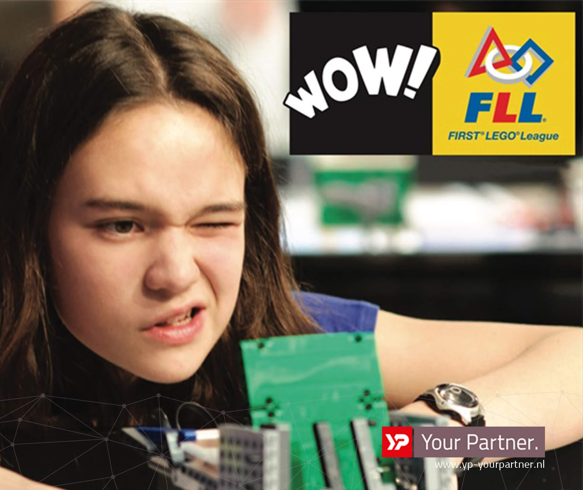 YP Your Partner partner first lego league - innovatiecluster drachten