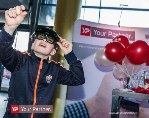 Edu Robotics Event - YP Your Partner - Innovatiecluster Drachten - HoloLens
