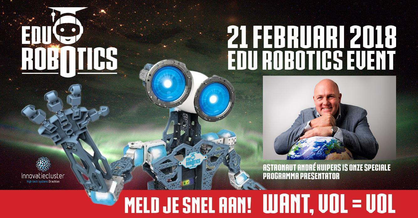 Innovatieclusater Drachten - YP Your Partner - Edu Robotics event