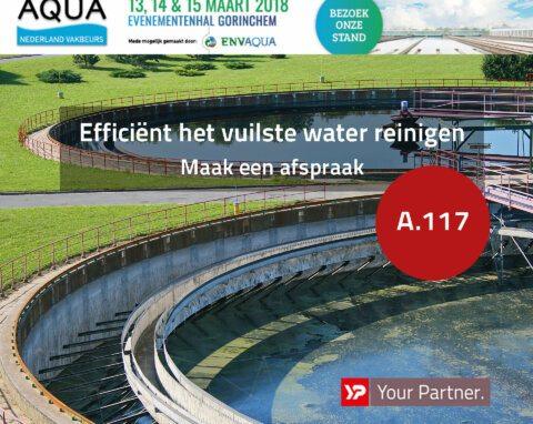 Bezoek YP Your Partner op Aqua Nederland Vakbeurs 2018- C.A.R.S - stand A.117