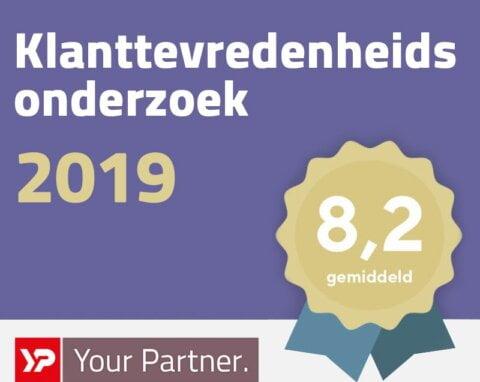 klanttevredenheidsonderzoek 2019, yp-yourpartner
